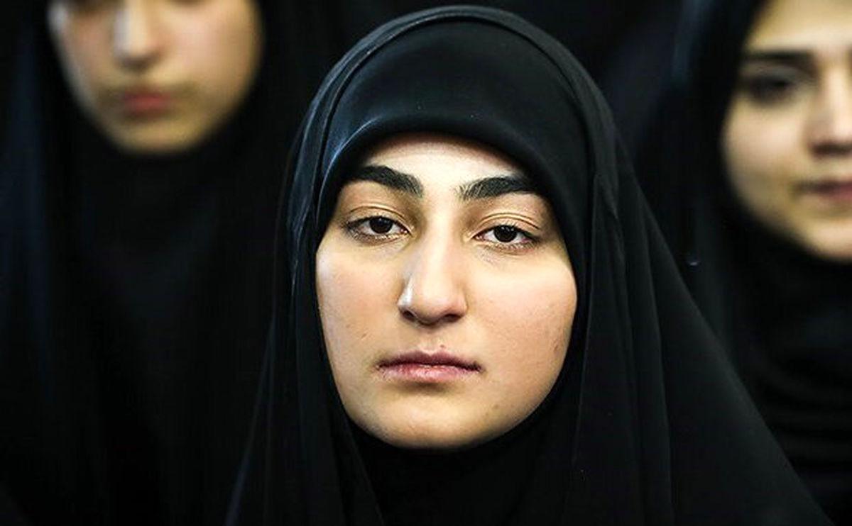دلیل زود ازدواج کردن دختر سردارسلیمانی لورفت + عکس