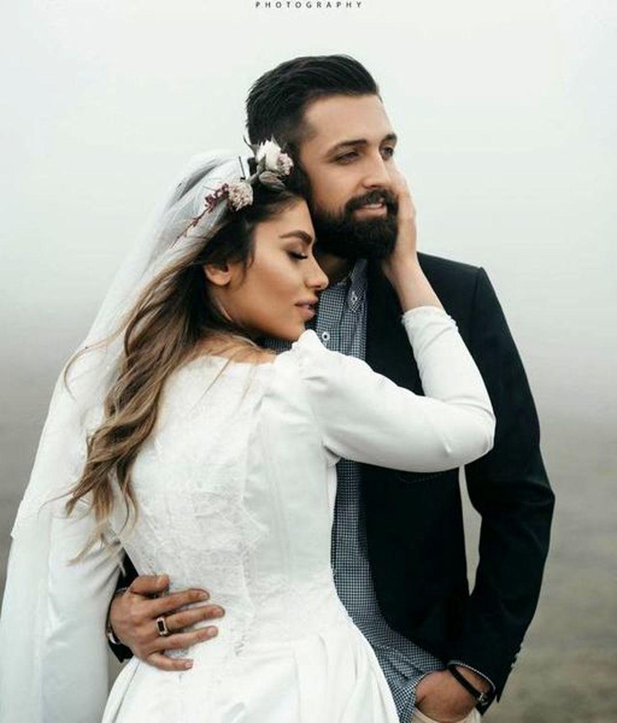 عکس عروسی محسن افشانی لورفت + تصاویر