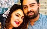 عکس لورفته از مجری معروف عصرجدید در کنار همسرش + تصاویر