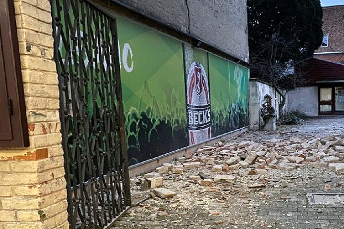 وقوع زلزله مهیب در کرواسی + عکس