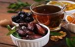 هرگز توت و خرما را با چای نخورید