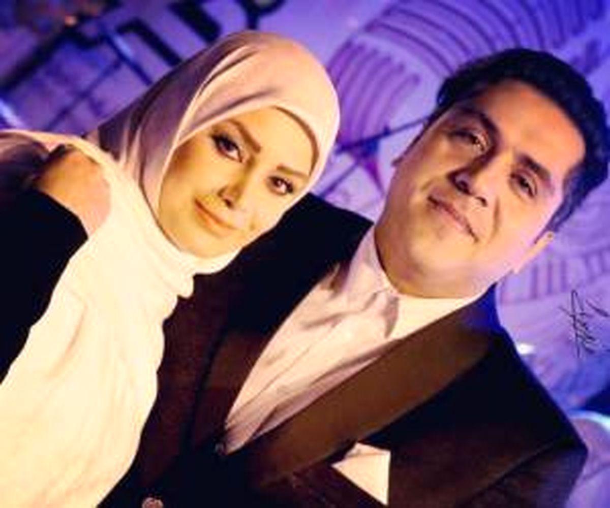 رقص صبا راد برای همسرش در شب تولدش + عکس
