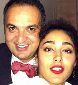 گلشیفته فراهانی با مجری معروف تلویزیون ازدواج کرد + عکس