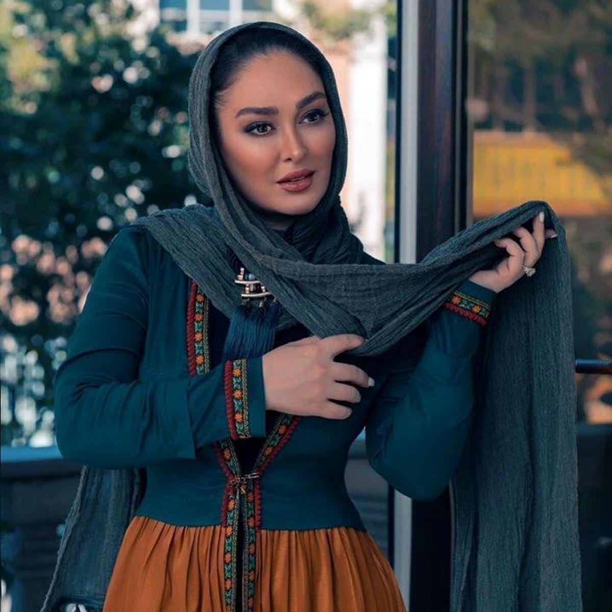 عاشقانه های الهام حمیدی و همسرش طوفان به پاکرد + عکس