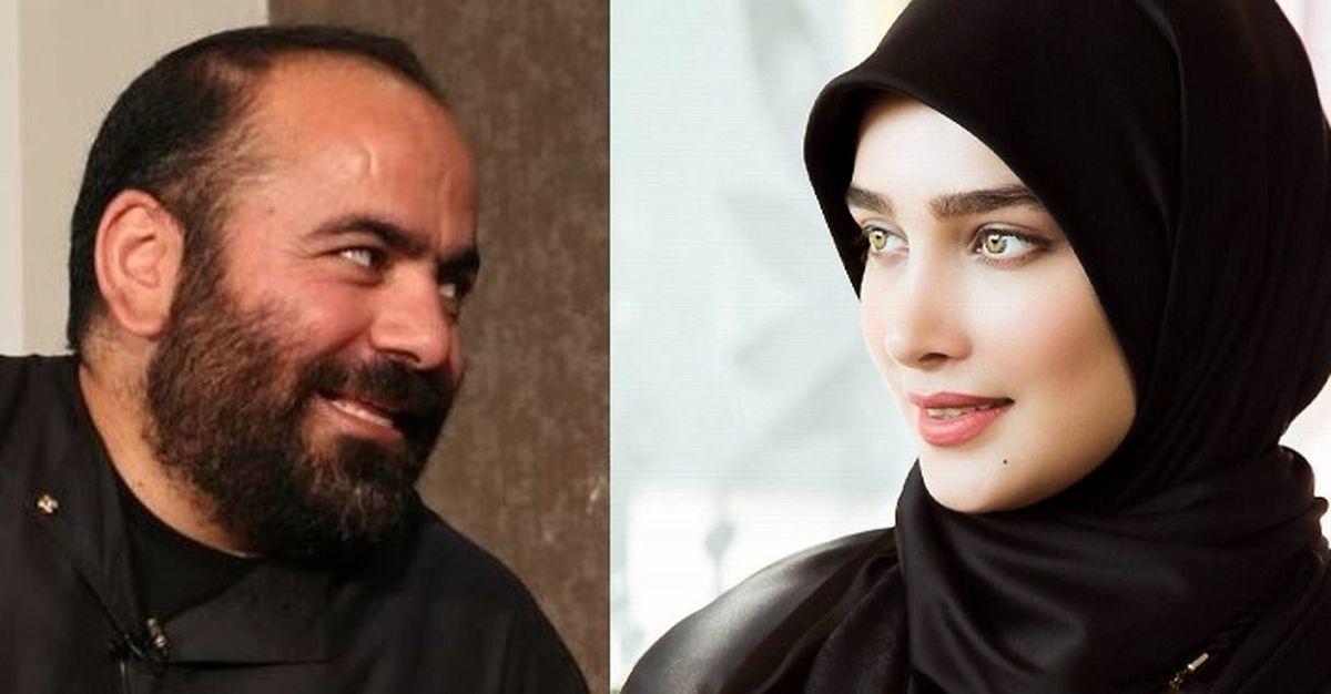 لایو جنجالی عروس سفیر ایران با حسن آقا میری غوغا به پاکرد + فیلم