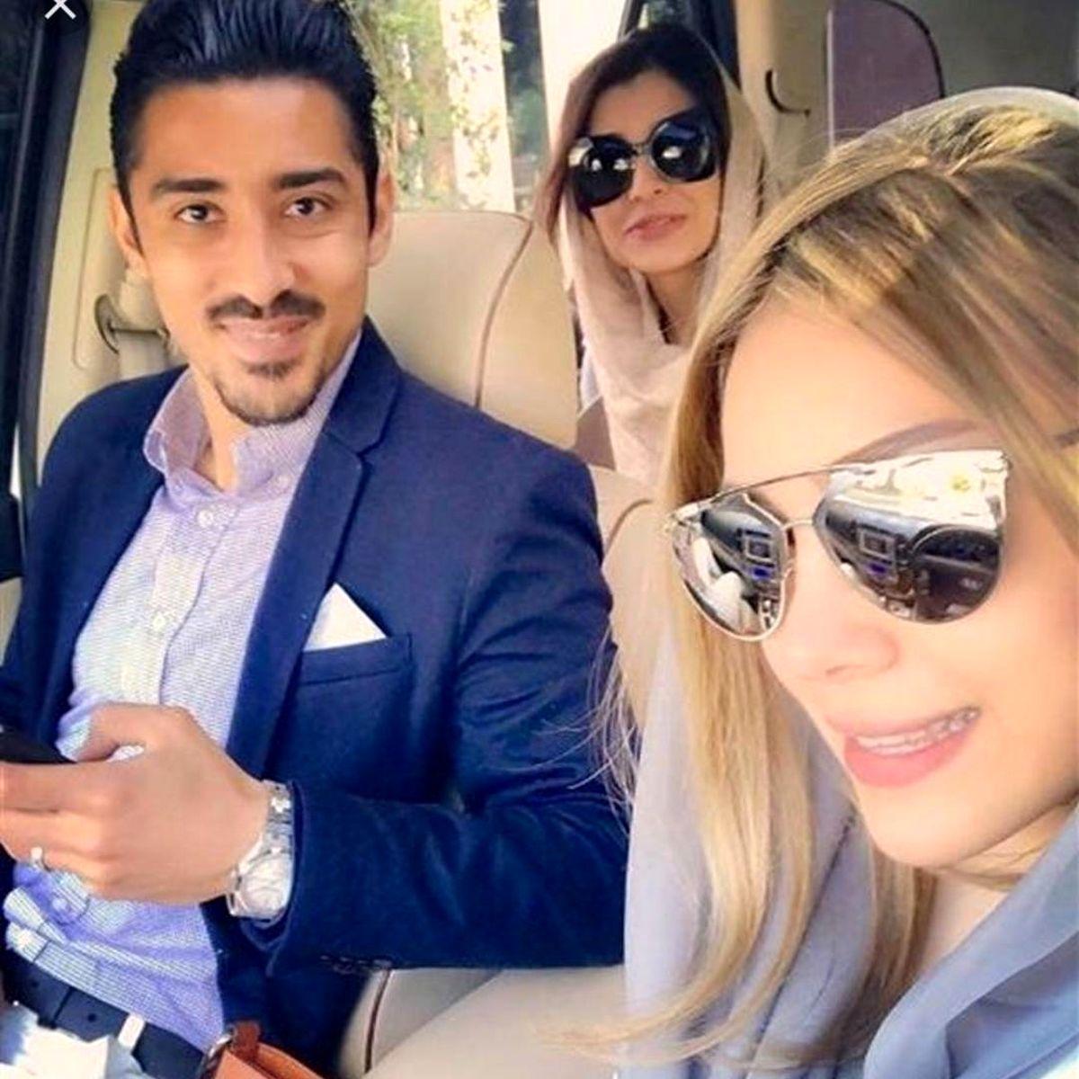 تبریک تولد همسر ساره بیات به خواهر زنش + عکس