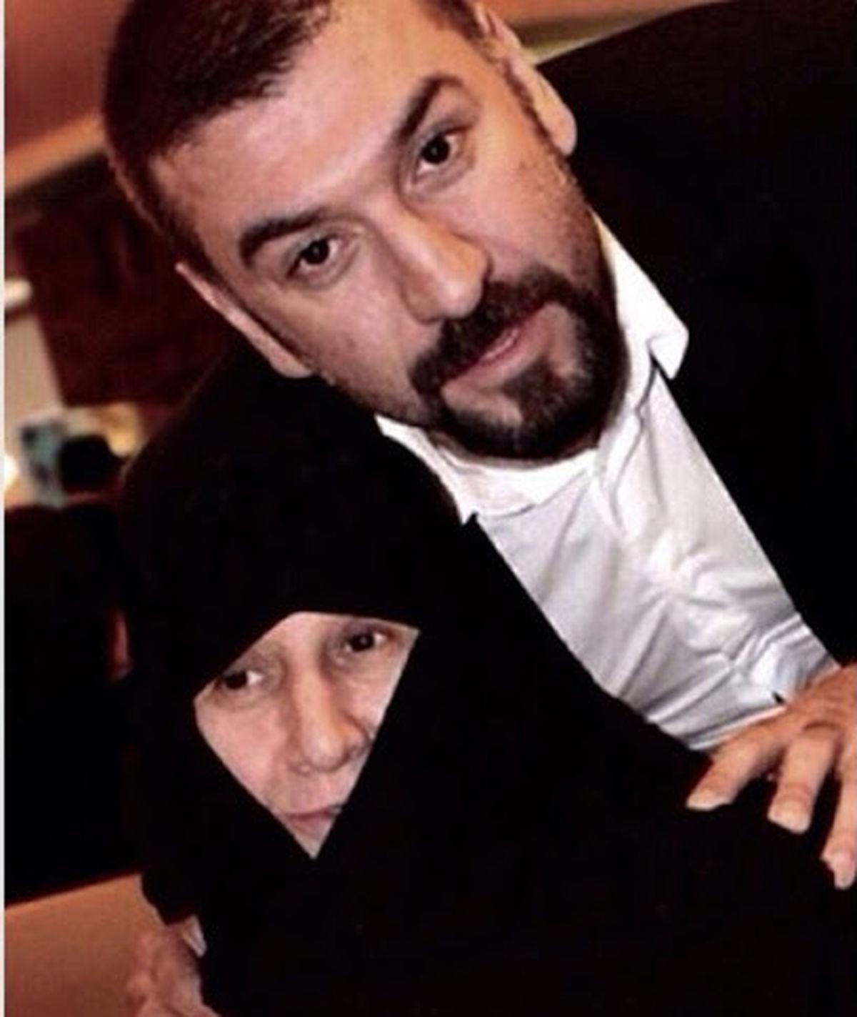 مادر علی انصاریان در بیمارستان بستری شد!