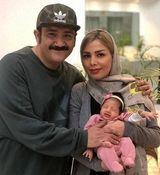 تبریک عجیب همسر مهران غفوریان برای روز مرد + عکس