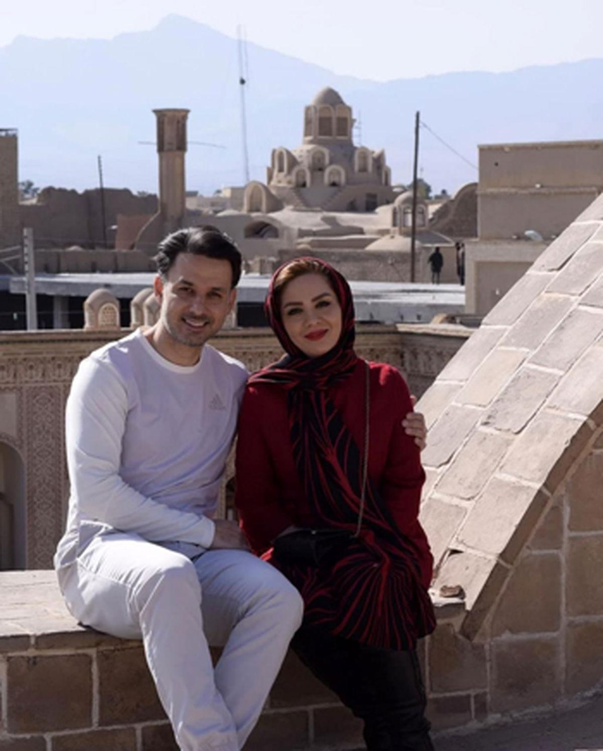 ازدواج دو مجری تلویزیون جنجال به پاکرد + عکس