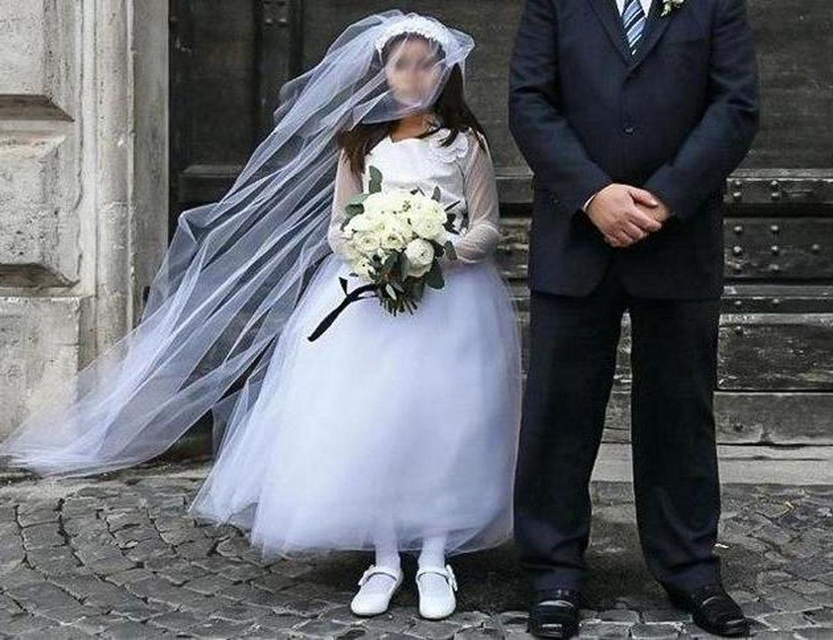 ازدواج دختر 12 ساله با مرد 88 ساله جنجالی شد!